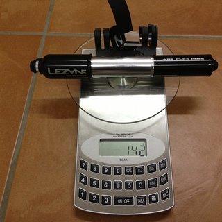 Gewicht Lezyne Werkzeug Alloy Drive Medium