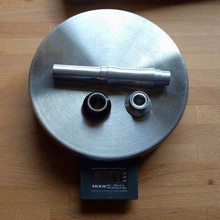Gewicht Hope Weiteres/Unsortiertes Pro II Achse 135mm/12