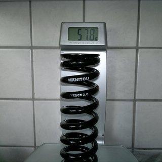 Gewicht Manitou Feder 400 x 3.00 400 x 3.00