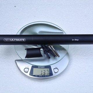 Gewicht New Ultimate Sattelstütze Sattelstütze (Alu) 30,9 x 350mm