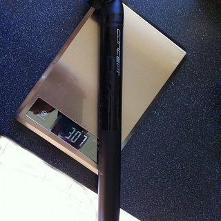 Gewicht Concept Sattelstütze CEX 31,6 x 350mm
