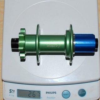 Gewicht BOR Nabe EN255/150 Rear 150/12mm, 32-Loch
