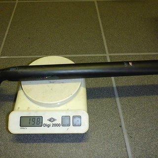 Gewicht Ritchey Sattelstütze WCS Trail Carbon 30,9 x 400