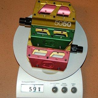 Gewicht Crank Brothers Pedale (Platform) 5050 XX