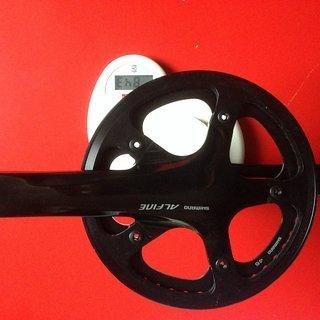Gewicht Shimano Kurbelgarnitur Alfine FC-S501 170mm