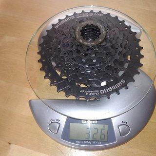 Gewicht Shimano Kassette SHIMANO CS-HG31 8-fach  11-34 11-34
