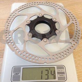 Gewicht Shimano Bremsscheibe SM-RT77S 160mm