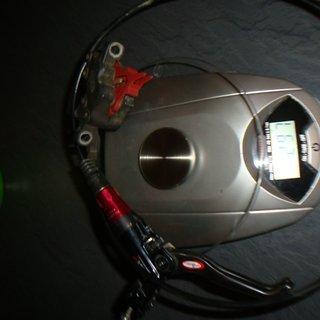 Gewicht Avid Scheibenbremse Elixir CR Carbon  VR, 740mm