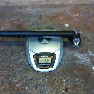 Gewicht Race Face Sattelstütze Atlas 27,2 x 340mm