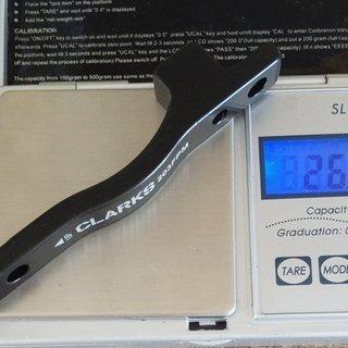 Gewicht Hayes Scheibenbremsadapter 98-15072 PM >>> PM +43