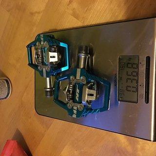 Gewicht HT Pedale (Klick) T1 68 x 83.5 x 16.8 mm