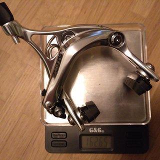 Gewicht Tektro Felgenbremse R539 47 - 59mm, HR