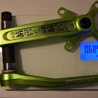 Gewicht Race Face Kurbel Atlas FR Green Monster 170, 68/73