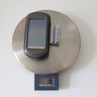 Gewicht Garmin GPS Oregon 300