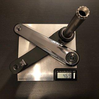Gewicht Shimano Kurbel XTR FC-M9120-1 Enduro/Trail 1x12-fach 175mm