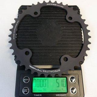 Gewicht Specialites TA Kettenblatt X112 112mm, 39Z