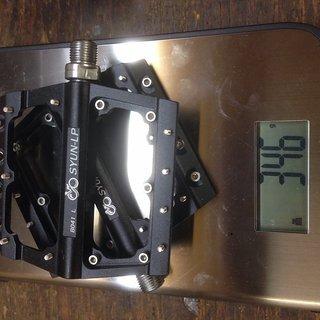 Gewicht Wellgo Pedale (Platform) SYUN-LP B041