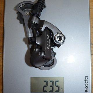 Gewicht Shimano Schaltwerk XTR RD-M952 SGS Long Cage