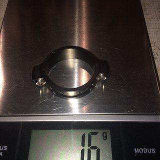Gewicht Vecnum Sattelklemme tooLOC 38,0mm 38,0mm