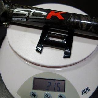 Gewicht FSA Sattelstütze SL-K 30,9 x 350mm