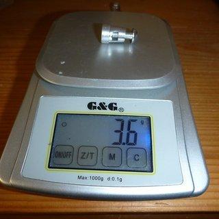 Gewicht Ciclo Sport Computer Speichenmagnet vom CM 4.4 A