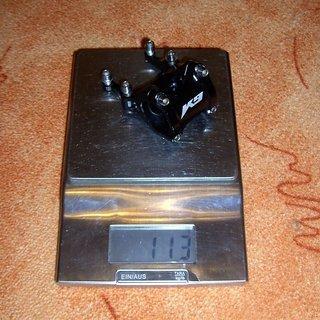 Gewicht K9 Industries Vorbau Direct 55 31.8mm, 55mm