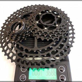 Gewicht No-Name Kassette BOLANY mountain bike flywheel 11-fach, 11-50