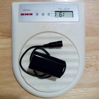 Gewicht No-Name Beleuchtung Akku für Cree XM-L T6 Chinalampe 7,4V 4400mAh