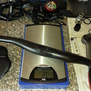 Gewicht Ritchey Lenker WCS Trail Carbon 35 760mm