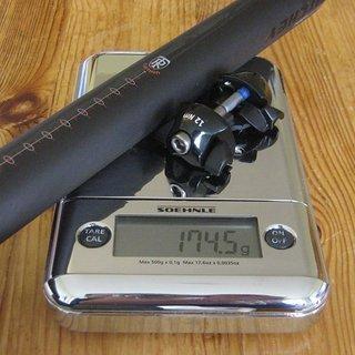 Gewicht Ritchey Sattelstütze SuperLogic Carbon 1-Bolt 31,6x400