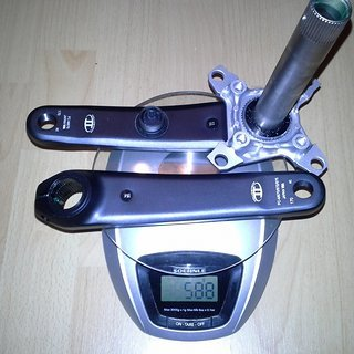 Gewicht Shimano Kurbel SLX FC-M670 170mm, 68/73mm, HTII