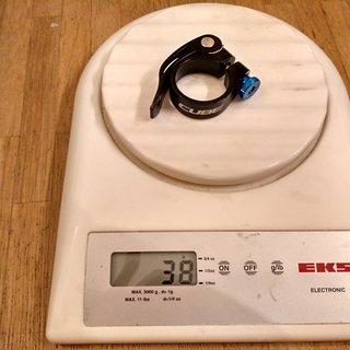 Gewicht Cube Sattelklemme Varioclose 31,8 mm