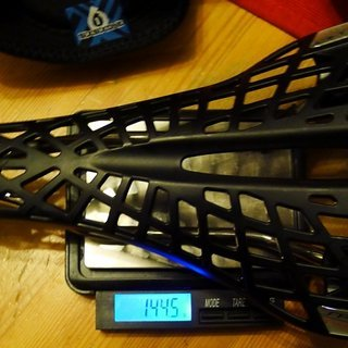 Gewicht Tioga Sattel Spyder Twin Tail  130 x 285