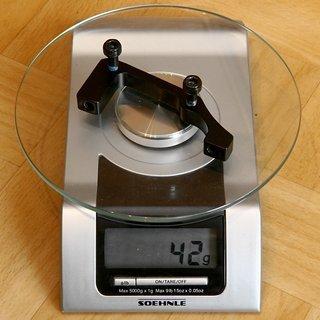 Gewicht Hayes Scheibenbremsadapter Adapter IS >>> PM +43