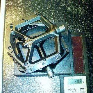 Gewicht Spank Pedale (Platform) Spike 105x95mm