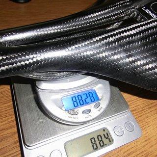 Gewicht Saevid Sattel Alien 143 mm