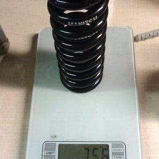 Gewicht Manitou Feder 550 x 2.75 550 x 2.75