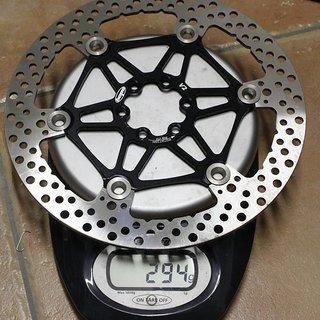 Gewicht Hope Bremsscheibe Floating Disc V2 203mm