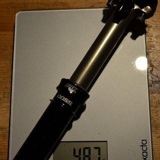 Gewicht Fox Sattelstütze höhenverstellbar D.O.S.S 30,9 / 335
