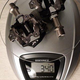 Gewicht Shimano Pedale (Klick) XT PD-M780
