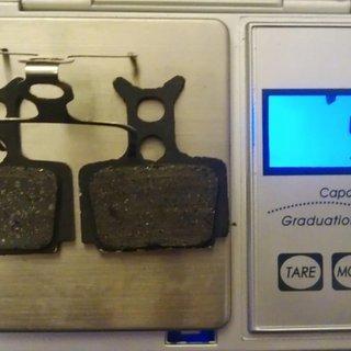 Gewicht Formula Bremsbelag FD40177-10 R1, RX, The One, Mega