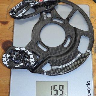 Gewicht cSixx Kettenführung 150gm 32 bis 42
