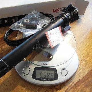 Gewicht Kind Shock Sattelstütze höhenverstellbar LEV 150mm 435x 31,6mm