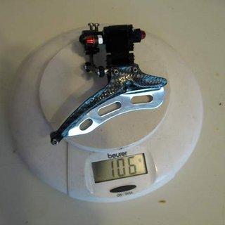 Gewicht Precision Billet Umwerfer Proshift (tuned)