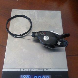 Gewicht SRAM Schalthebel XX Trigger 2 fach