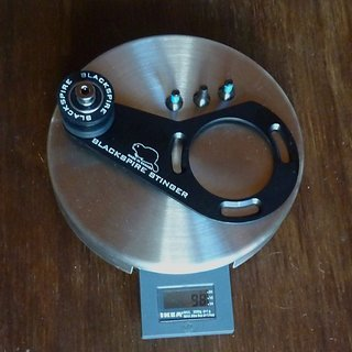 Gewicht Blackspire Kettenführung Stinger 32-40Z, ISCG-05