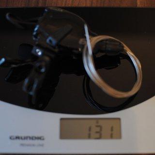 Gewicht SRAM Schalthebel X9 Trigger 2-fach