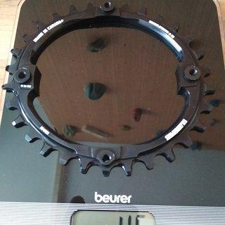 Gewicht Blackspire Kettenblatt Snaggletooth Oval 104mm 30 Zähne 104mm 30Z Oval