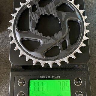 Gewicht SRAM Kettenblatt 32T Eagle Technology X Sync 2 lunar grau 32T