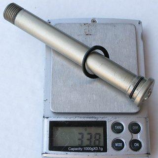 Gewicht FRM Achse BOLT THRU-AXLE 100 x 15mm